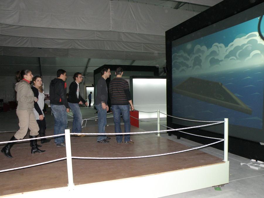 Ένα παιχνίδι φυσικής διαδραστικότητας για 12 παίκτες (φωτό: Pathfinder)